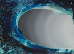 """""""Wave #2"""" Oil on Synthetic Canvas"""