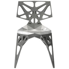 MC06 Endless Form Chair Series Stainless Steel customizable black&sliver outdoor