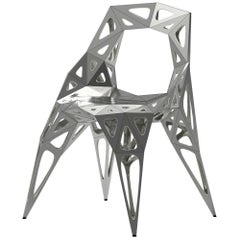 MC08 Endless Form Chair Series Stainless Steel Black and Sliver Outdoor