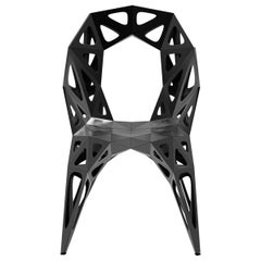 MC13 Endless Form Chair Stainless Steel Outdoor Customizable Black and Sliver