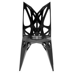 MC15 Endless Form Chair Series Stainless Steel Black and Sliver Outdoor