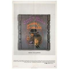 McCabe & Mrs. Miller 1971 U.S. One Sheet Film Poster