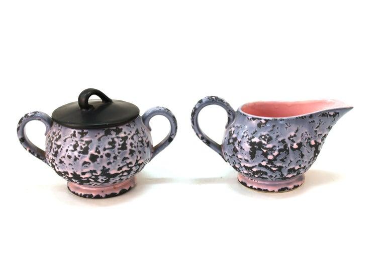 McCoy Mid-Century Modern Ceramic Tea or Coffee Set For Sale 2