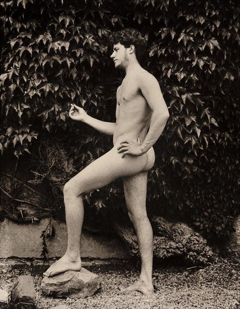 McDermott & McGough Nude Photograph - Joel and Lower Baldonell House, Dublin, 1910