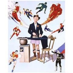 McDermott & McGough Superhero #4 Limited Edition Print