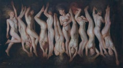 12 Variations, Oil Painting