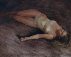 Repose 1, Oil Painting