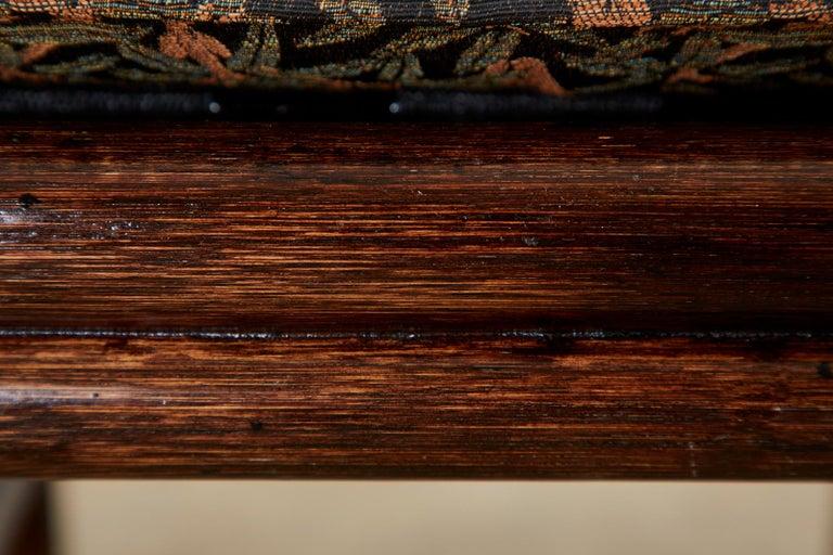 McGuire Bamboo Rattan Organic Modern Gondola Settee Bench For Sale 9