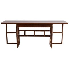 McGuire Flip-Top Server Console or Dining Table