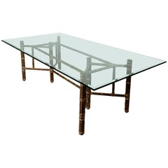 McGuire Rectangular Dining Table