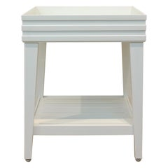 Perrow Square Side Table, Outdoor Garden Furniture by McKinnon and Harris