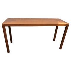 MCM Danish Teak Console / Sofa / Hall  Table by Vejle Stole Mobelfabrik, 1970s