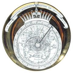 MCM Piero Fornasetti Astrolabe Porcelain Plate, #1, Astrolabio Pattern