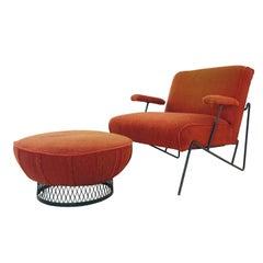 MCM Salterini Chair and Ottoman