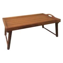 Mid-Century Modern Teak Bed / Breakfast Tray