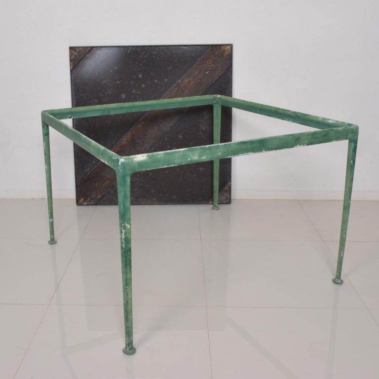 MCM Vintage Patio Dining Table by Richard Schultz for Knoll, 1966 For Sale 2