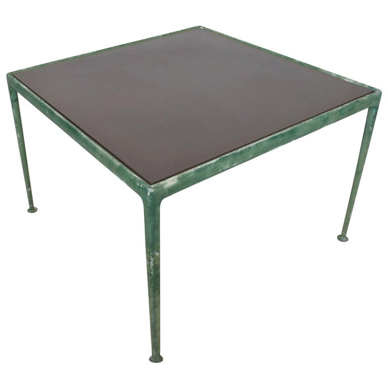 MCM Vintage Patio Dining Table by Richard Schultz for Knoll, 1966 For Sale