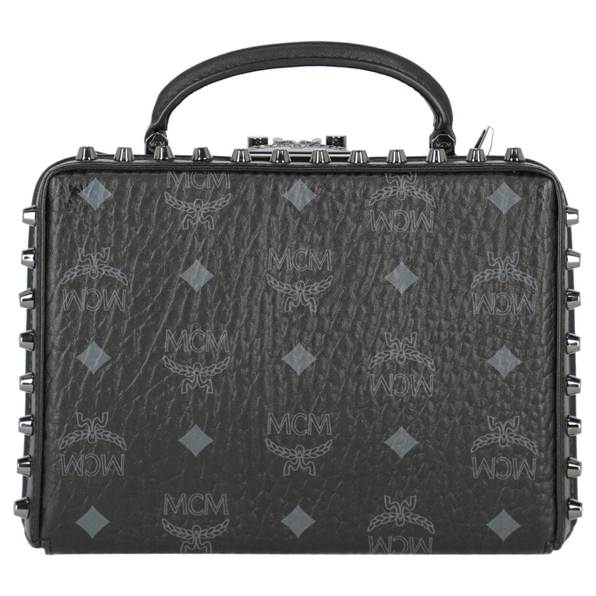Mcm Woman Handbag Black