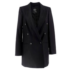 McQ by Alexander McQueen Black Tuxedo Blazer IT 38 / US 0-2