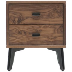 McQueen Bedside Dresser in Walnut by Matthew Hilton