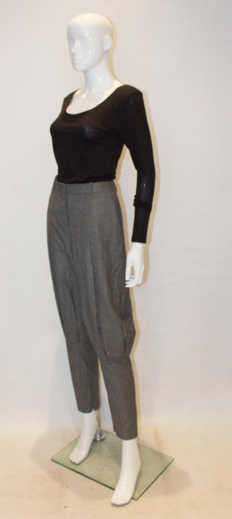 McQueen Tailored Wool Trousers In Good Condition For Sale In London, GB