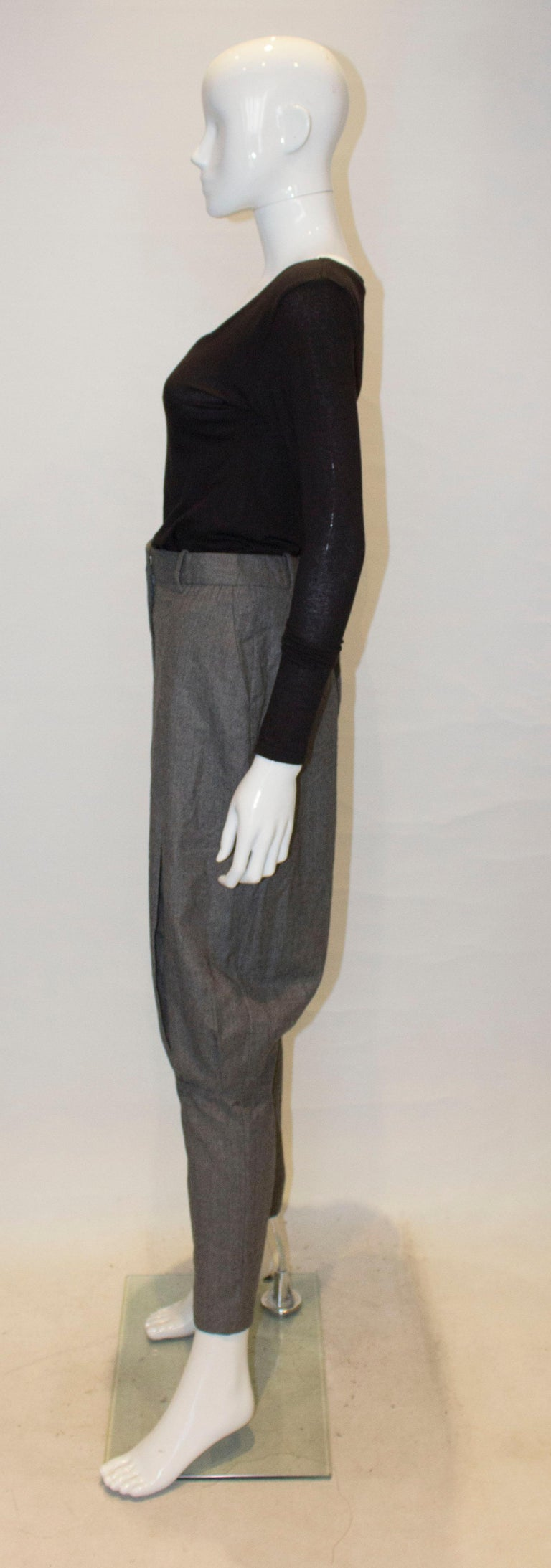Women's McQueen Tailored Wool Trousers For Sale