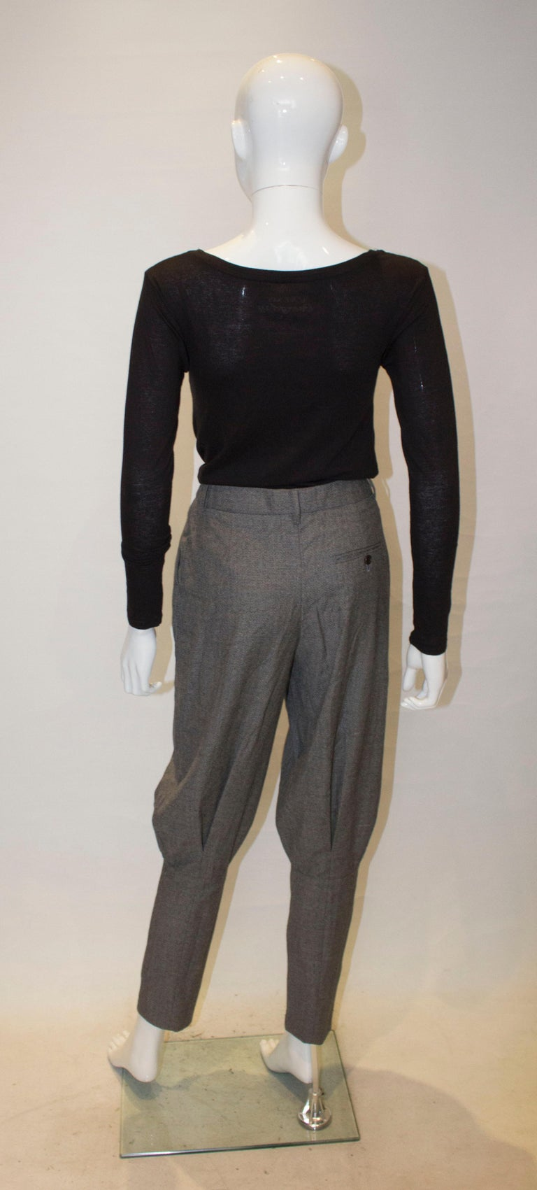 McQueen Tailored Wool Trousers For Sale 1