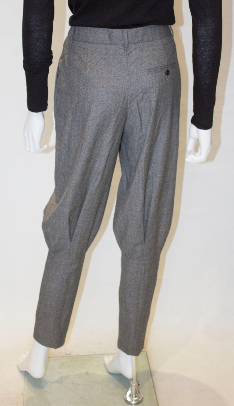 McQueen Tailored Wool Trousers For Sale 2