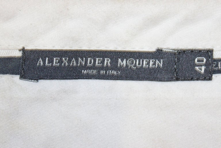 McQueen Tailored Wool Trousers For Sale 3