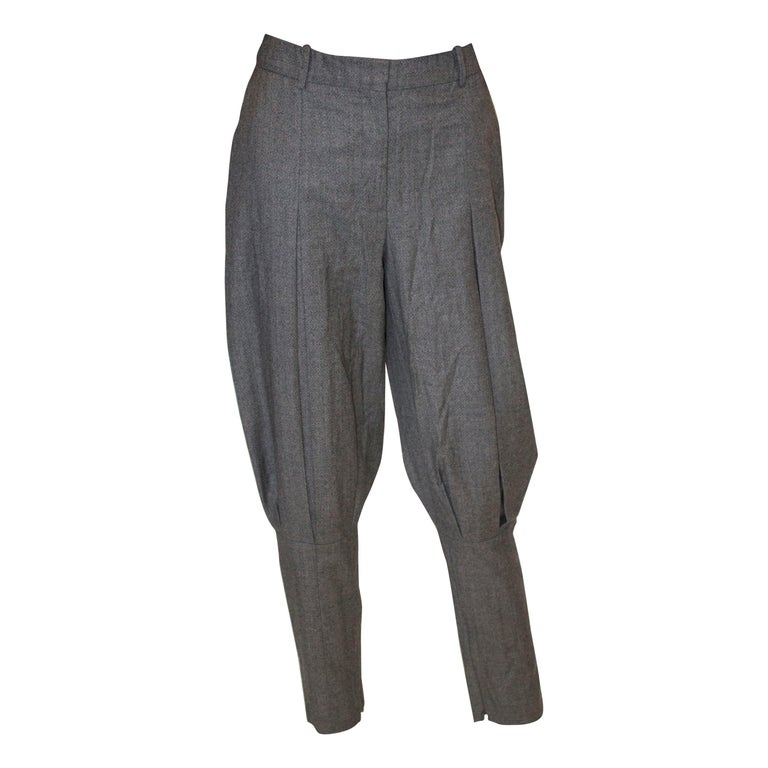 McQueen Tailored Wool Trousers For Sale