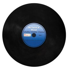 McTwist and Shout Chubby Cheddar Advertising Record