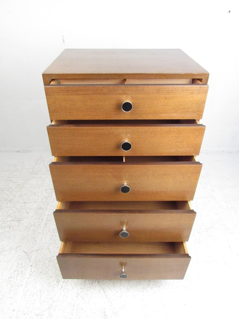 Late 20th Century Md-Century Modern George Nelson Lingerie Chest For Sale