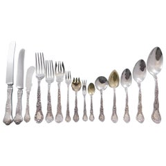Meadow by Gorham Sterling Silver Flatware Set for 12 Service 198 Pieces Dinner