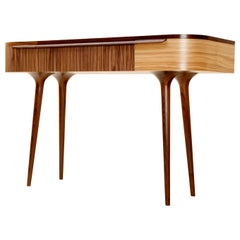 Meala Desk/ Dressing/ Console Table in Walnut and Olive Ash