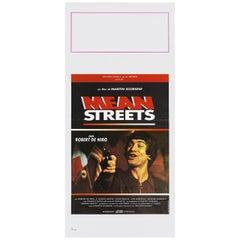 'Mean Streets' R1980s Italian Locandina Film Poster
