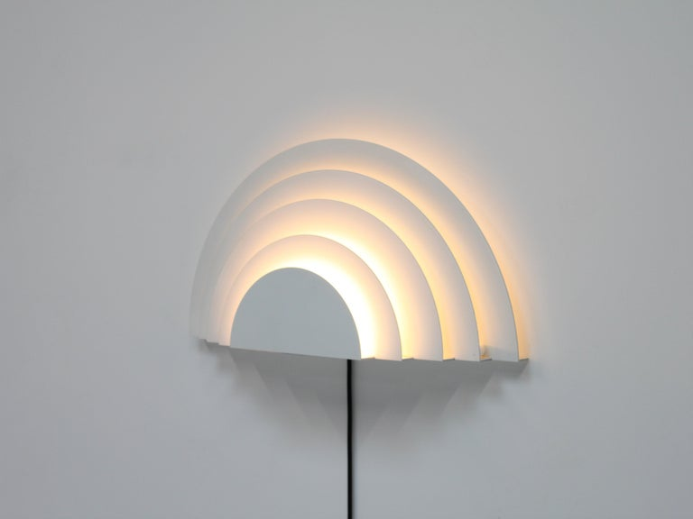 Dutch Meander Wall Sconce by Cesare Casati and Emanuele Ponzio for RAAK, Netherlands For Sale
