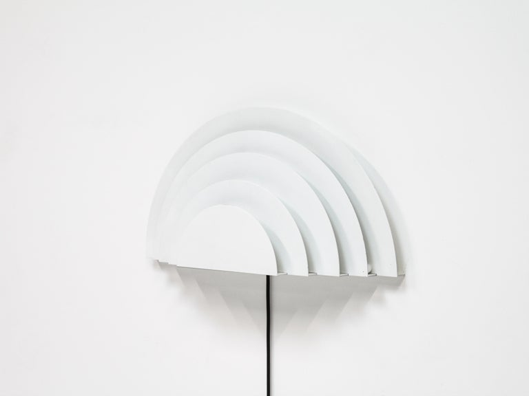 Meander Wall Sconce by Cesare Casati and Emanuele Ponzio for RAAK, Netherlands In Good Condition For Sale In London Road, Baldock, Hertfordshire