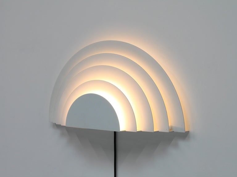 Meander Wall Sconce by Cesare Casati and Emanuele Ponzio for RAAK, Netherlands For Sale 1