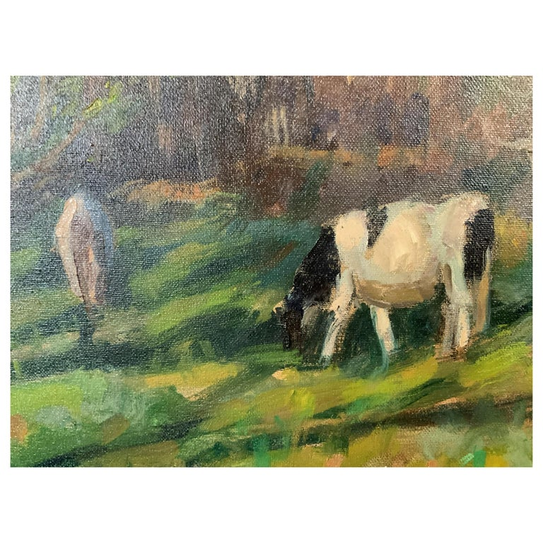 Measure Store Susan Grisell Signed Oil Painting For Sale