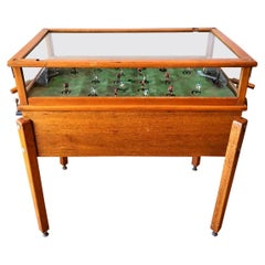 Mechanical Football Toy Game from the 30s