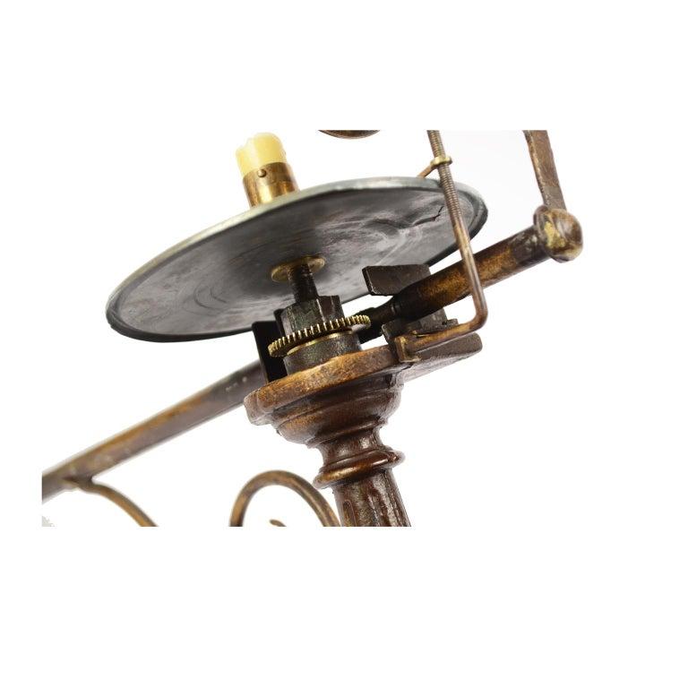 Antique Rare Mechanical Orrery, Astronomical Instrument  by Jan Felkl Praga 1870 For Sale 8