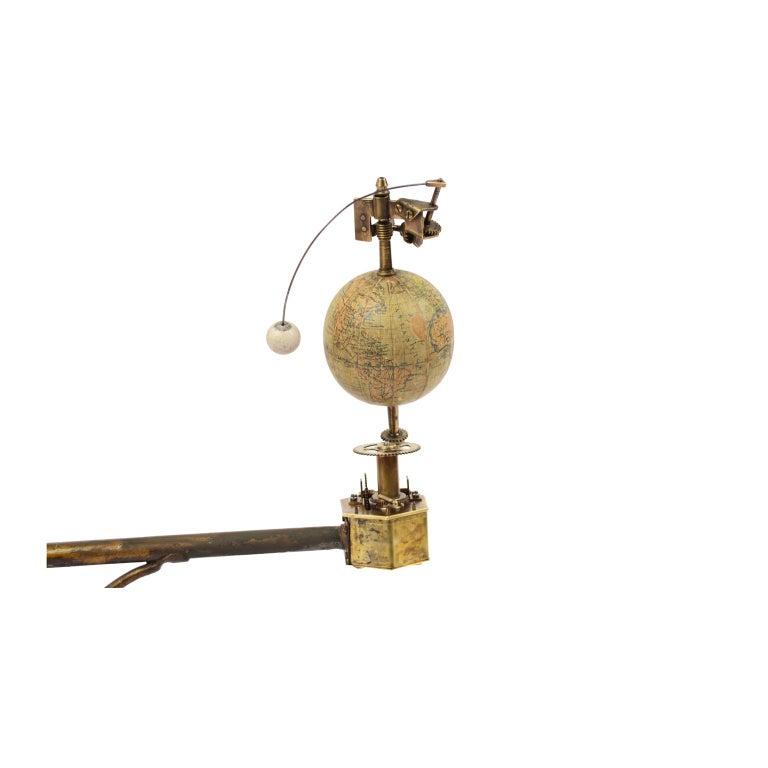 Antique Rare Mechanical Orrery, Astronomical Instrument  by Jan Felkl Praga 1870 For Sale 2