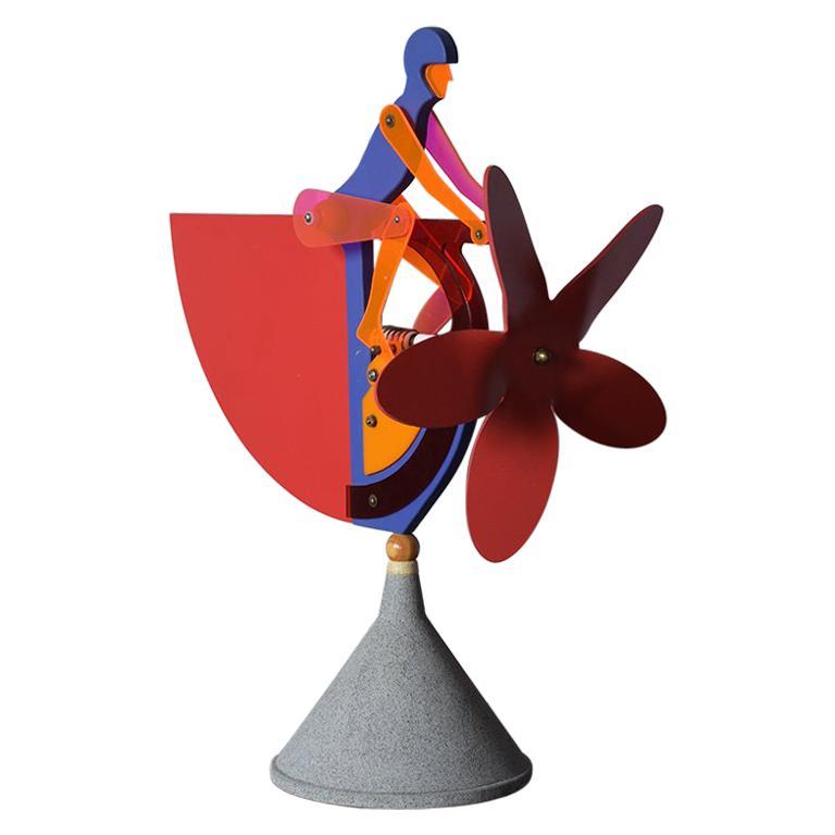 Plastic Kinetic Sculpture
