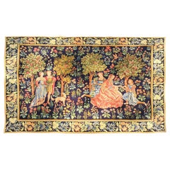 Mechanical Tapestry Aubusson of the 19th Century