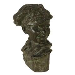 Bronze Sculpture by Medardo Rosso First Half of 1900s