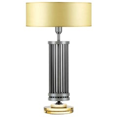 Medea Amber Table Lamp by Acanthus