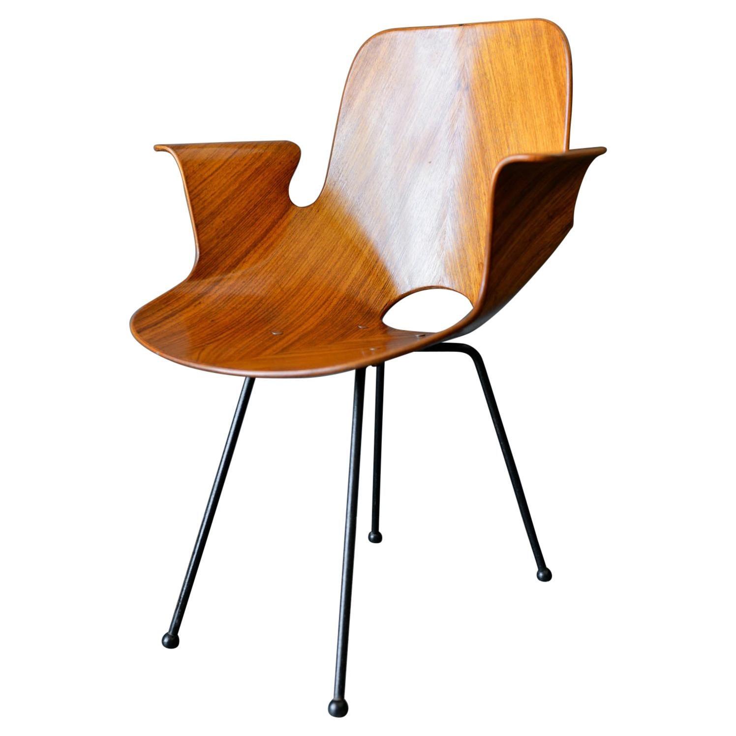 Medea Chair by Vittorio Nobili for Fratelli Tagliabue, ca. 1955