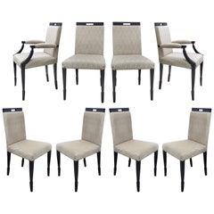 Medea Mobilidea Washington Dining Chairs by Alessandro La Spada, Set of Eight