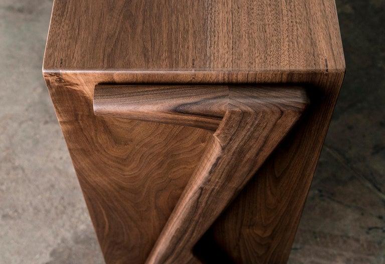 Media Credenza, Cabinet, Storage, Midcentury, Danish Weave, Custom, Wood, Shelf For Sale 7