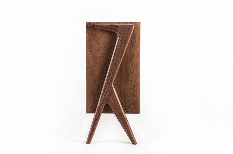Mid-Century Modern Media Credenza, Cabinet, Storage, Midcentury, Danish Weave, Custom, Wood, Shelf For Sale
